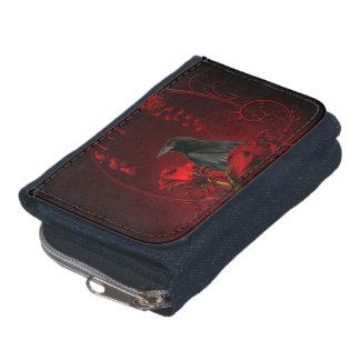 Wonderful crow wallet