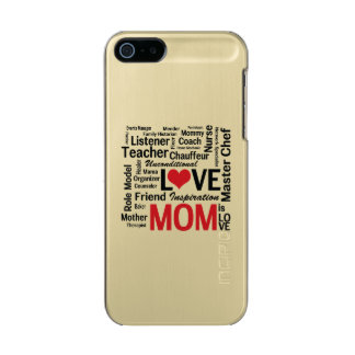 Wonderful Do-It-All Mom - Mother's Day or Birthday Incipio Feather® Shine iPhone 5 Case