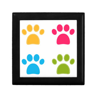 Wonderful dogs paws colored edition gift box