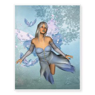 Wonderful fairy with fantasy birds