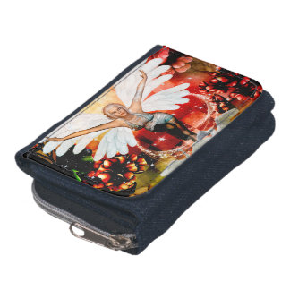 Wonderful fairy with swan wallets