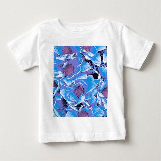 wonderful flowers 08 blue t-shirts
