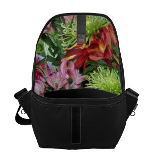 wonderful flowers courier bags