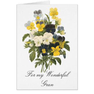 Wonderful Gran Card