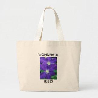 Wonderful Irises Bag
