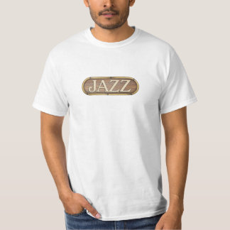 Wonderful jazz wood sign T-Shirt