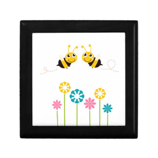 Wonderful little cute Bees yellow Gift Box