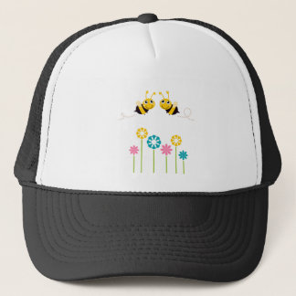 Wonderful little cute Bees yellow Trucker Hat