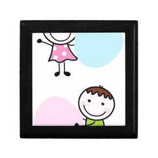 Wonderful little kids / creative t-shirts gift box