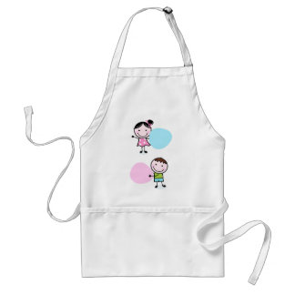 Wonderful little kids / creative t-shirts standard apron