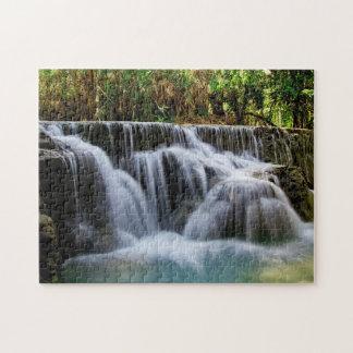 Wonderful natural waterfalls jigsaw puzzle