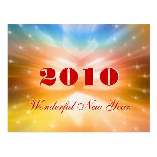 Wonderful New Year 2010 - Postcard