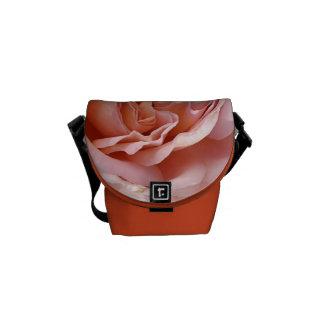 Wonderful Orange and Pink Rose - Small Bag Commuter Bag