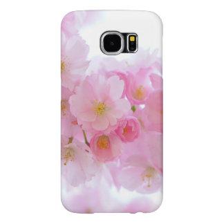Wonderful Pink Japanese Cherry Blossom Samsung Galaxy S6 Cases