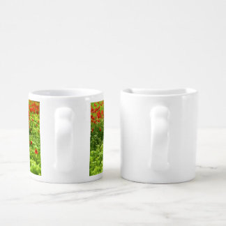 Wonderful poppy flowers V - Wundervolle Mohnblumen Couple Mugs