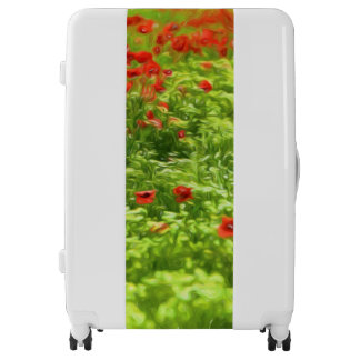Wonderful poppy flowers V - Wundervolle Mohnblumen Luggage