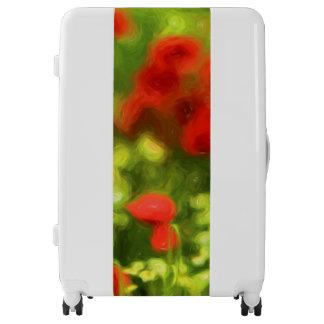 Wonderful poppy flowers VI - Wundervolle Mohnblume Luggage