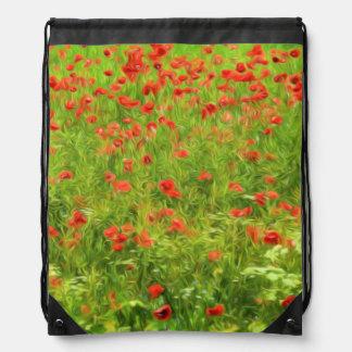 Wonderful poppy flowers VII - Wundervolle Mohnblum Backpack