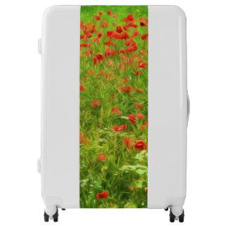 Wonderful poppy flowers VII - Wundervolle Mohnblum Luggage