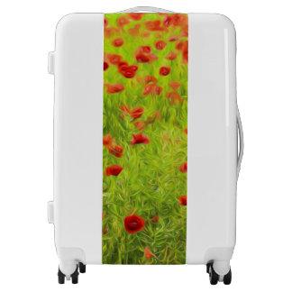 Wonderful poppy flowers VIII - Mohnbluhmen Luggage