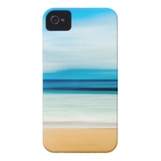 Wonderful Relaxing Sandy Beach Blue Sky Horizon iPhone 4 Case-Mate Case