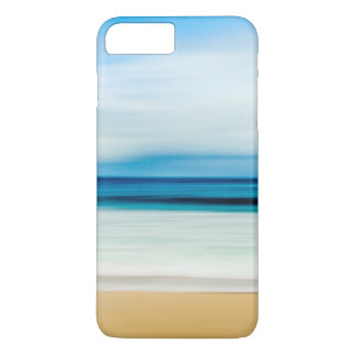 Wonderful Relaxing Sandy Beach Blue Sky Horizon iPhone 7 Plus Case