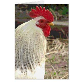 Wonderful Rooster 2 Card