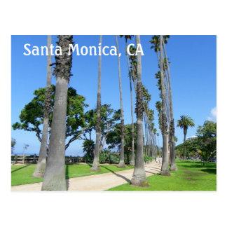 Wonderful Santa Monica Postcard! Postcard