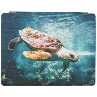Wonderful  Sea Turtle Ocean Life Turquoise Sea iPad Cover