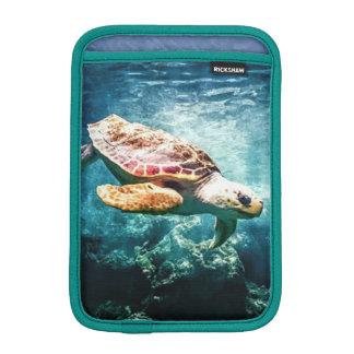 Wonderful  Sea Turtle Ocean Life Turquoise Sea iPad Mini Sleeves
