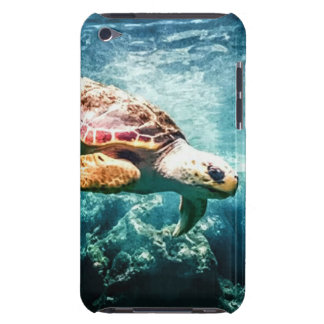 Wonderful  Sea Turtle Ocean Life Turquoise Sea iPod Touch Cases