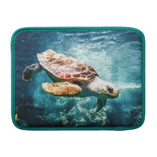Wonderful  Sea Turtle Ocean Life Turquoise Sea Sleeves For MacBook Air