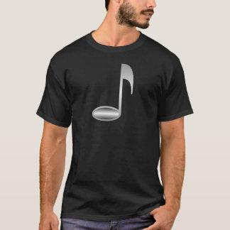 Wonderful Silver Music Note T-Shirt