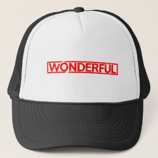 Wonderful Stamp Trucker Hat