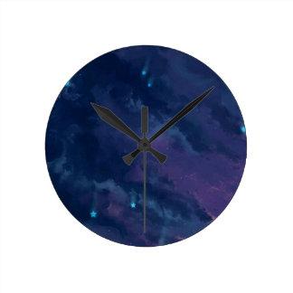 wonderful Star Gaze SKY - Gifts Greetings Dark FUN Clock