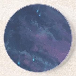 wonderful Star Gaze SKY - Gifts Greetings Dark FUN Coaster