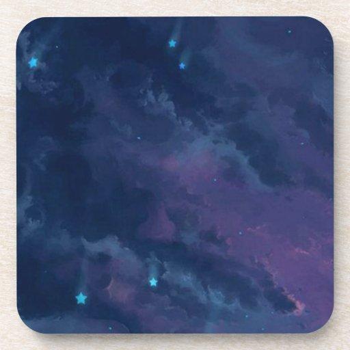 wonderful Star Gaze SKY - Gifts Greetings Dark FUN Coasters
