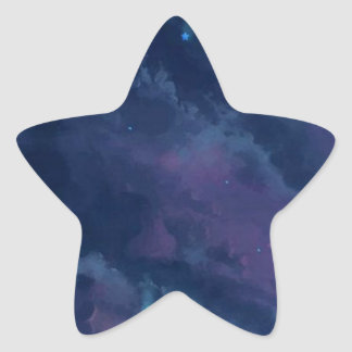 wonderful Star Gaze SKY - Gifts Greetings Dark FUN Star Sticker