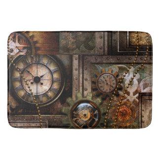 Wonderful steampunk design bath mat