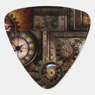 Wonderful steampunk design plectrum