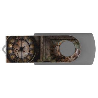 Wonderful steampunk design USB flash drive