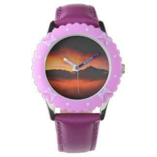Wonderful Sunset Design Wristwatches