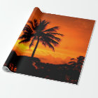 Wonderful Sunset Wrapping Paper