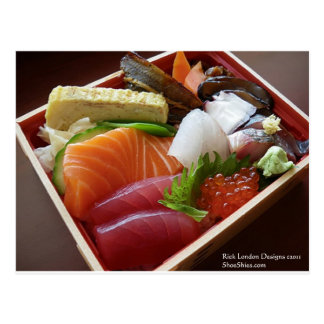 Wonderful Sushi Plate Print On Tees Cards & Gifts