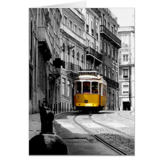 Wonderful Tram Line 28 in Lisbon Card
