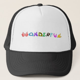 Wonderful Trucker Hat