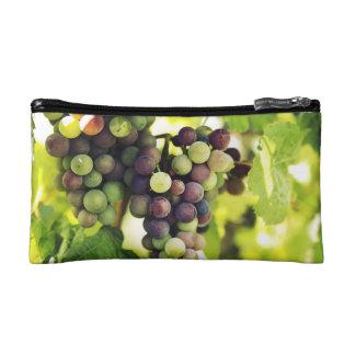 Wonderful Vine Grapes,  Autumn Fall Sun Makeup Bag