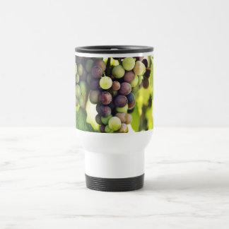 Wonderful Vine Grapes,  Autumn Fall Sun Travel Mug