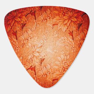 Wonderful vintage design in soft red plectrum