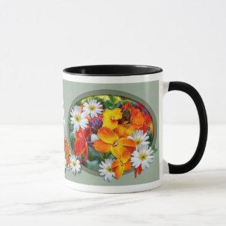 WONDERFUL WALLFLOWERS ~ Momogram Mug